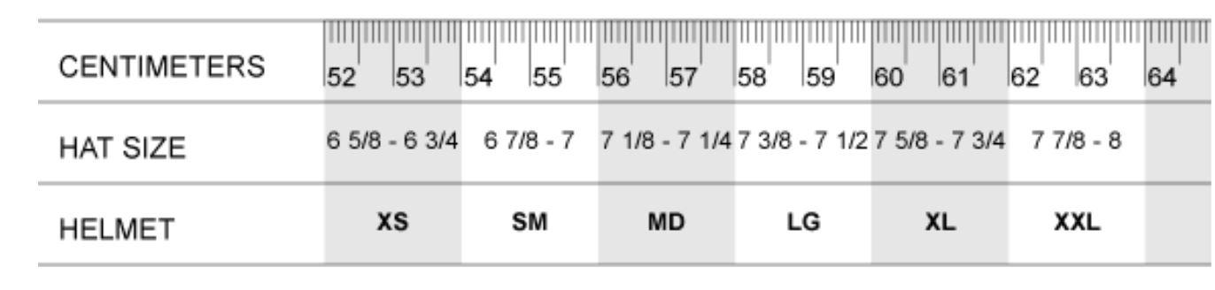 fitting room ruler